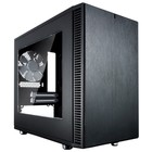 Корпус Fractal Design Define Nano S Window, без БП, miniITX, черный