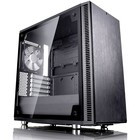 Корпус Fractal Design Define Mini C TG, без БП, mATX, черный