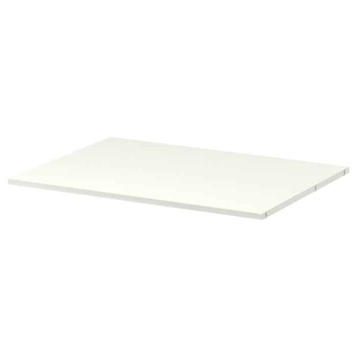 Полка АЛЬГОТ, 80x58 см, белый