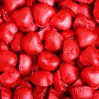 Конфеты шоколадные весовые в форме сердечка с ореховым кремом  3,5 кг 131-R