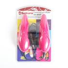 Сушилка для обуви SA-8151P, 60-75С, арома-пластик, антибакт, раздвижная, розовая