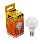Лампа светодиодная Ecola Light, G45, 4 Вт, E14, 2700 K, 77x45 мм