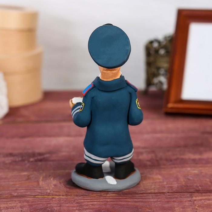 "Статуэтка ""Инспектор ГИБДД"", ручная работа - фото 370256979"