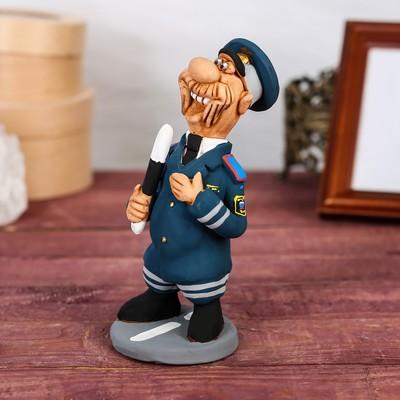 """Статуэтка """"Инспектор ГИБДД"""", ручная работа"""