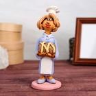 """Статуэтка """"Кондитер с тортом"""", женщина, микс"""