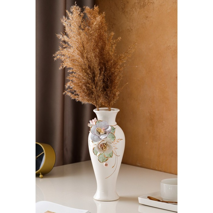"""Ваза настольная """"Кокетка"""", керамика, цветная лепка, 28 см, микс - фото 811129"""