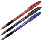 Ручка шариковая Berlingo Metallic Pro, стержень синий, узел 0,7 мм 247023