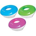 Скрепочница магнитная Round, со скрепками 30шт цвет ассорти, европодвес 247194