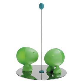 Солонка и перечница Lilliput, зелёные