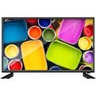 """Телевизор Hartens HTV-49F011B-T2/PVR/S, Smart, LED, 49"""", черный"""