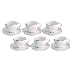 Чайный набор на 6 персон Peonies