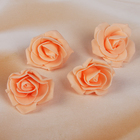 The set of colors for the decoration of Tamarana, D=5 cm, 4 pieces, peach