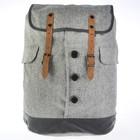 Рюкзак молодежный Proff 44*40*13 Dress Code, серый DS16-BP-21