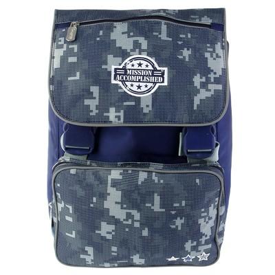 Рюкзак школьный эргономичная спинка Proff 35*26*13 Military сиреневый MI16-BPA-02-01