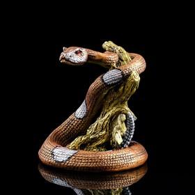 """Статуэтка """"Змея"""", стразы, 27 см"""
