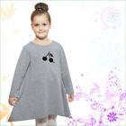 Платье для девочки, рост 140 см, цвет серый 314-1633