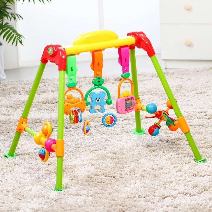Игровой развивающий центр «Малыш», с погремушками