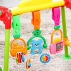 Игровой развивающий центр-турник с погремушками «Малыш»