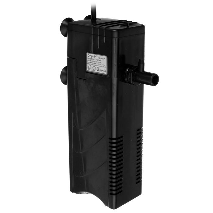 Фильтр внутренний KW Dophin FВ-2000F, 5 Вт, 400 л/ч,с дождиком и углем