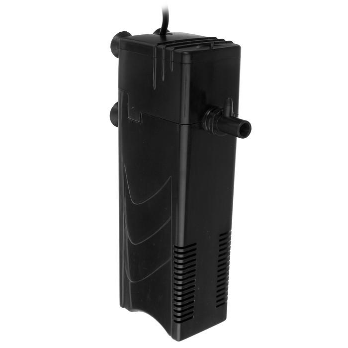 Фильтр внутренний KW Dophin FВ-3000F, 7.2 Вт, 480 л/ч,с дождиком и углем