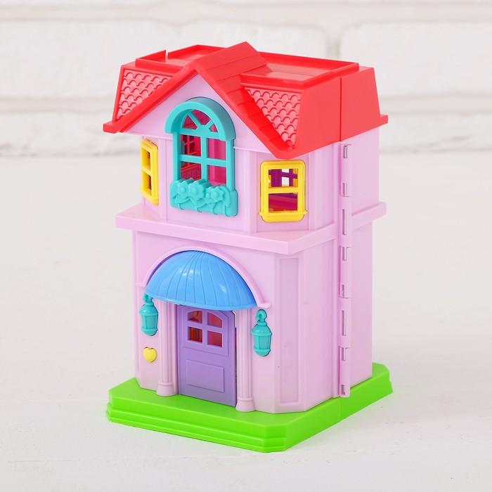 дом с звонком для куклы фото его