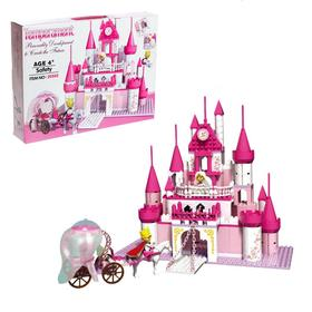 "Constructor for girls ""Fairy tale castle"", 500 items"