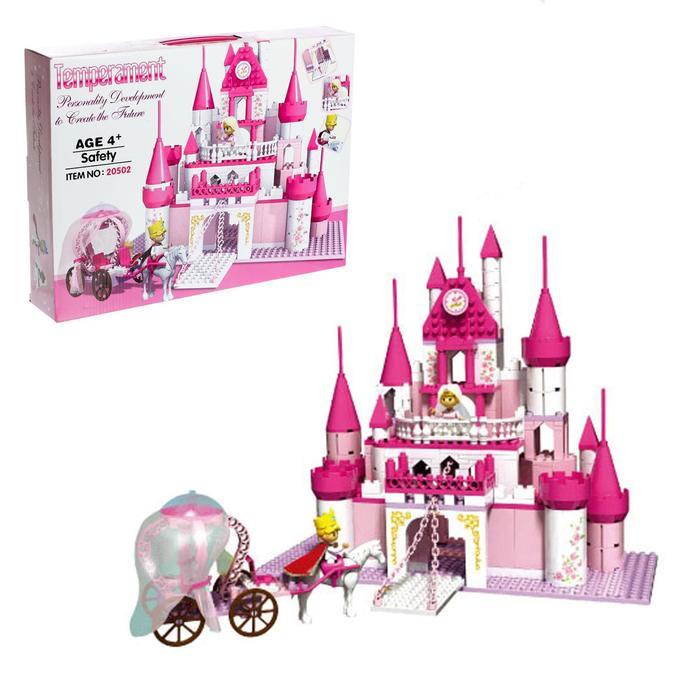 Конструктор для девочек «Сказочный замок», 500 деталей