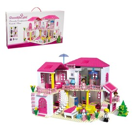 "Constructor for girls ""Country house"", 800 parts"