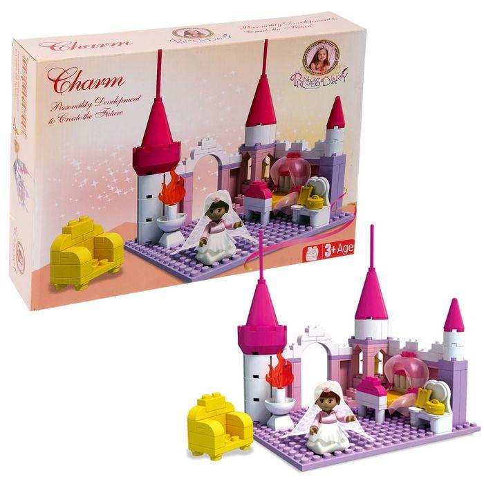 Конструктор для девочек «Комната принцессы», 175 деталей
