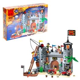 Конструктор «Пиратская крепость», 366 деталей