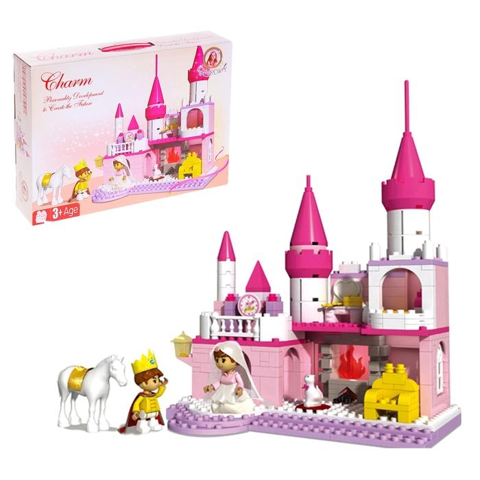 Конструктор для девочек «Встреча с принцем», 300 деталей