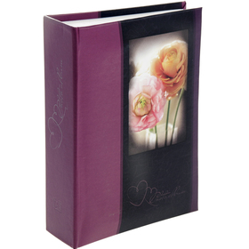 Photo album for 100 photos 10x15 cm Image Art, flowers, MIX