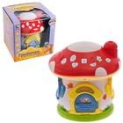 Развивающая игрушка «Грибочек», с проектором, сказки, песенки, звуковые эффекты, МИКС