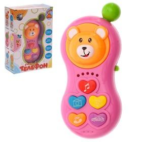 Телефончик музыкальный «Ало- Ало! Телефончик» мелодии, звуковые эффекты цвета МИКС