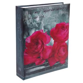 Фотоальбом на 200 фото 10х15 см Image Art, цветы, МИКС