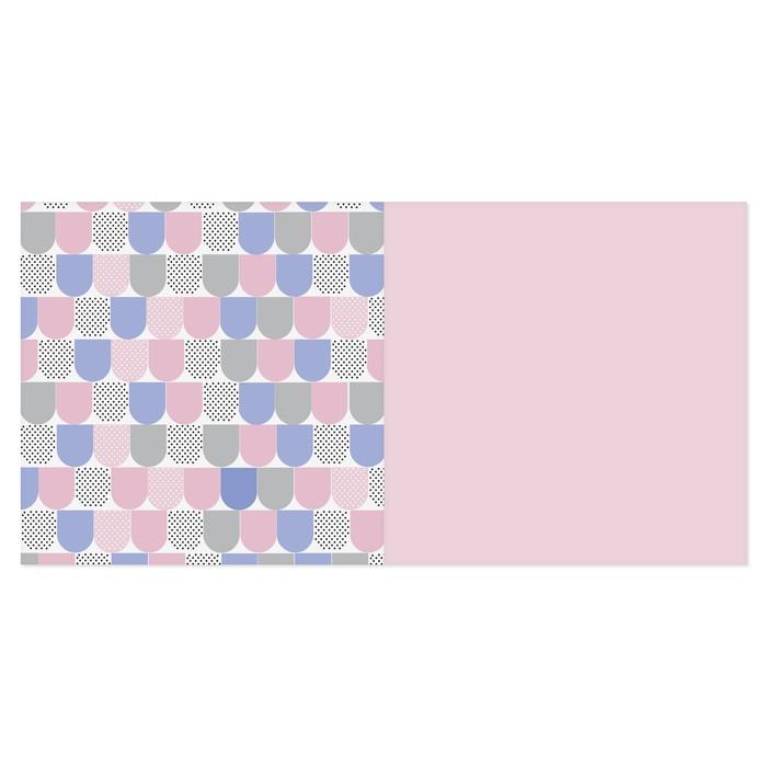 Набор бумаги для скрапбукинга «Геометрия цвета», 12 листов, 15,5 х 15,5 см - фото 370877068