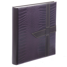 Magnetic photo album 30 sheets Image Art, classic croco