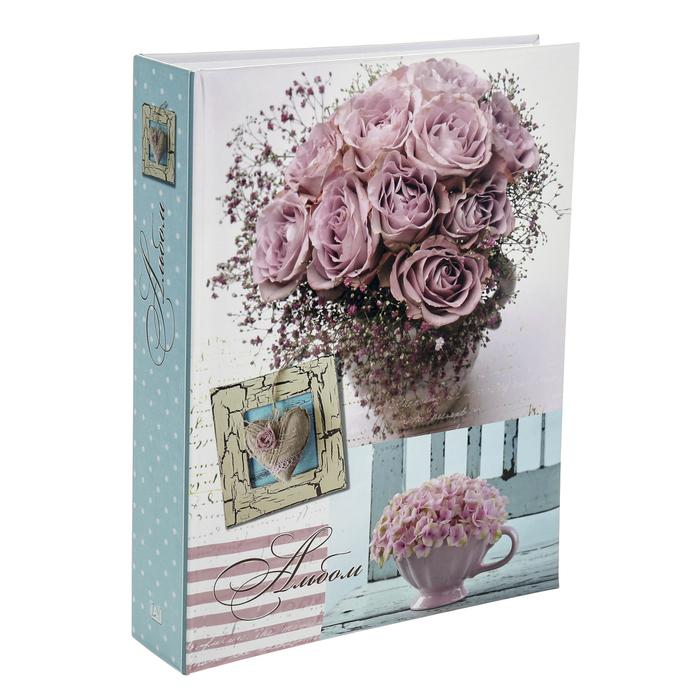 Фотоальбом на 200 фото 10х15 см Image Art, цветы