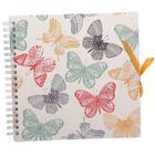 Фотоальбом 25 листов на пружине Innova Scrapbook - Butterflies