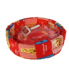 Стартнабор д/щенка (миска, поводок, пупер-скрупер, пуходерка, игрушка,лежанка)37х37х10 смУЦЕНКА 2994