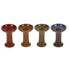 Чаша для кальяна керамическая «Фанел. Гармошка», 8 × 10 см, под мрамор