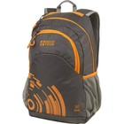 Рюкзак городской Стрэй 30, Серый/оранжевый