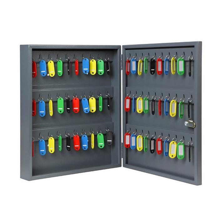 Ключница, брелоки в комплекте (60 крючков, 40 брелоков)