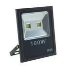 Прожектор светодиодный серия SLIM 100W, IP66, 9000Lm, 6000К БЕЛЫЙ ХОЛОДНЫЙ УЦЕНКА