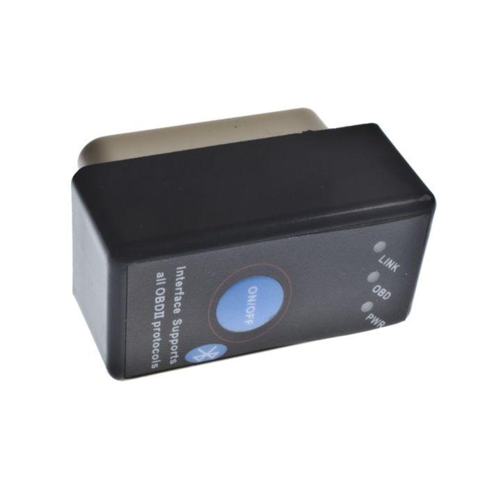 Автосканер беспроводной ParkCity ELM-327BT2 black