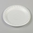 Тарелка десертная, белая, 17 см