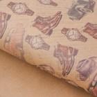 Бумага упаковочная крафтовая «Мужские интересы», 50 × 70 см