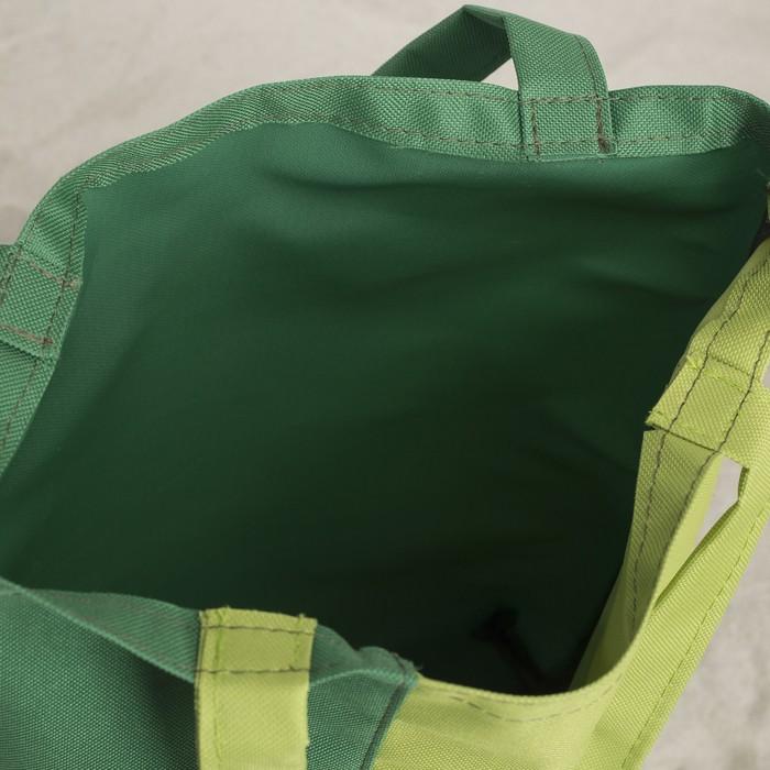 Сумка Bagamas, 1 отдел без молнии, цвет зелёный/салатовый