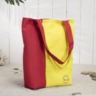 Сумка Bagamas, 1 отдел без молнии, цвет красный/жёлтый