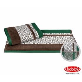 Полотенце Nazende, размер 70 × 140 см, зелёный